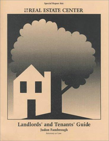Download Landlords' and Tenants' Guide