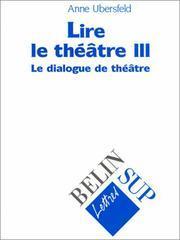 Lire le théâtre