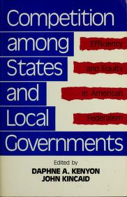 Competition among states and local governments by