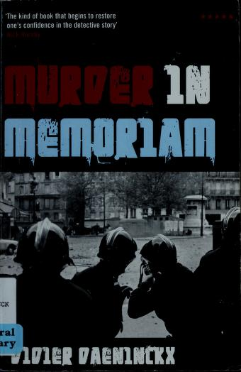 Cover of: Murder in memoriam | Daeninckx, Didier