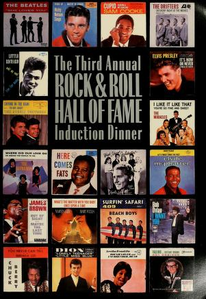 Cover of: The third annual Rock & Roll Hall of Fame induction dinner | Rock and Roll Hall of Fame Foundation