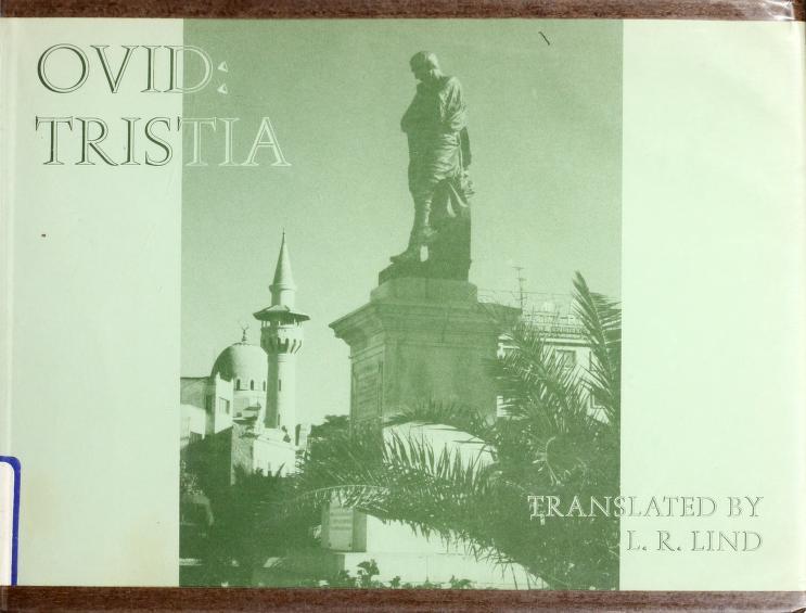 Tristia by Ovid