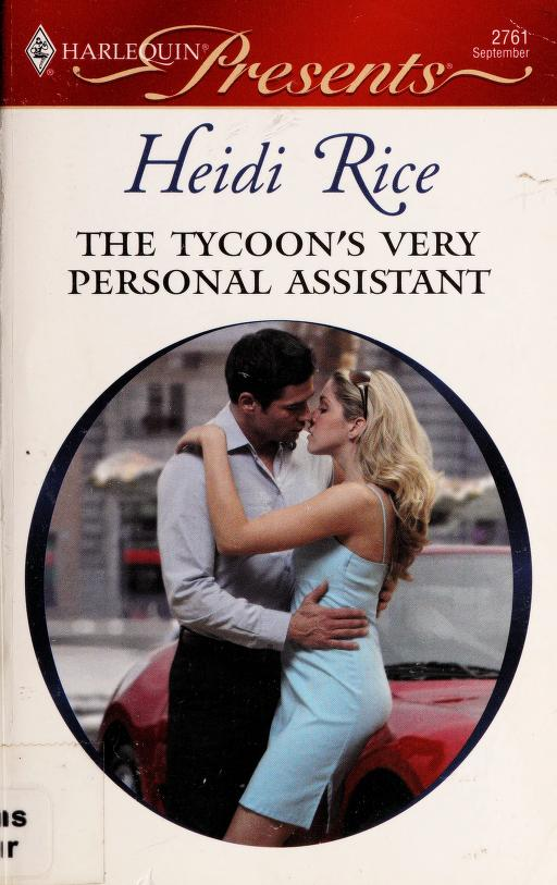 The tycoon's very personal assistant by Heidi Rice