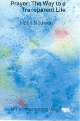 Prayer by Henri Nouwen