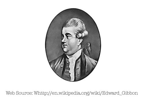 Photo of Edward Gibbon