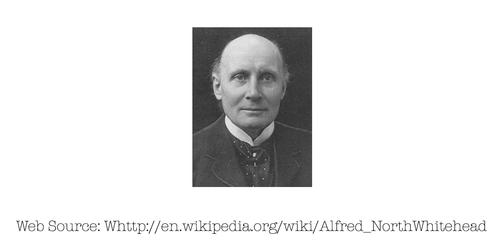 Photo of Alfred North Whitehead