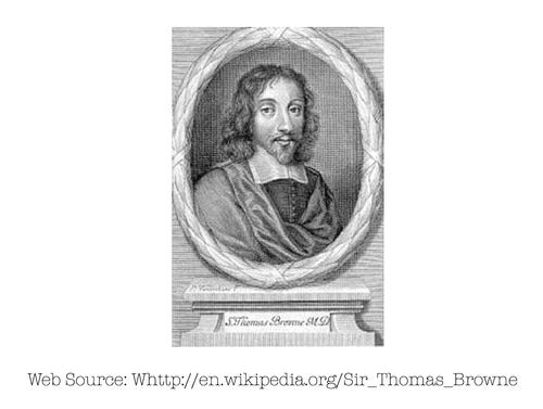 Photo of Thomas Browne