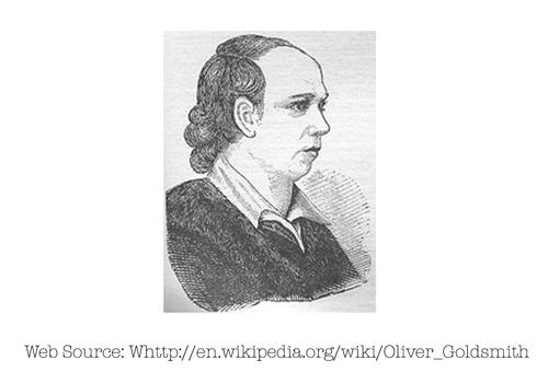 Photo of Oliver Goldsmith