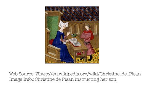 Photo of Christine de Pisan