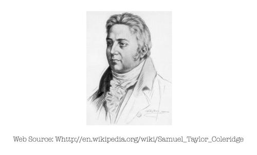 Photo of Samuel Taylor Coleridge