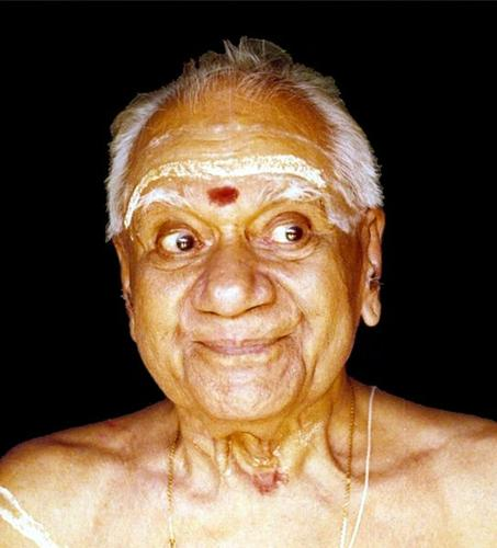 Photo of Mani Madhava Chakyar